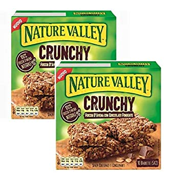 Nature Valley Crunchy Barras Crujientes de Avena Harina ...