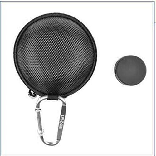TrifyCore Auriculares Negros Manos Libres EVA Reproductor de MP3 Estuche rígido más Caja de Almacenamiento Redonda Auriculares y Plata y Cubierta Estuche de teléfono Celular Star Gratis: Amazon.es: Hogar