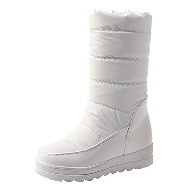 311a7d5b944f93 Kaiki Chaussure Femme,Bottes d'hiver pour Femmes: Semelle en Caoutchouc,  Chaussures