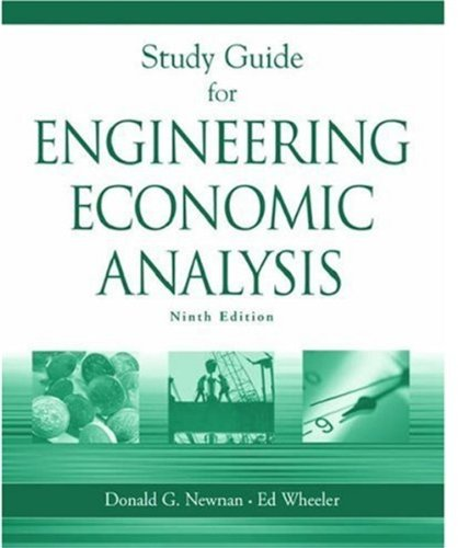 Study Guide for Engineering Economic Analysis