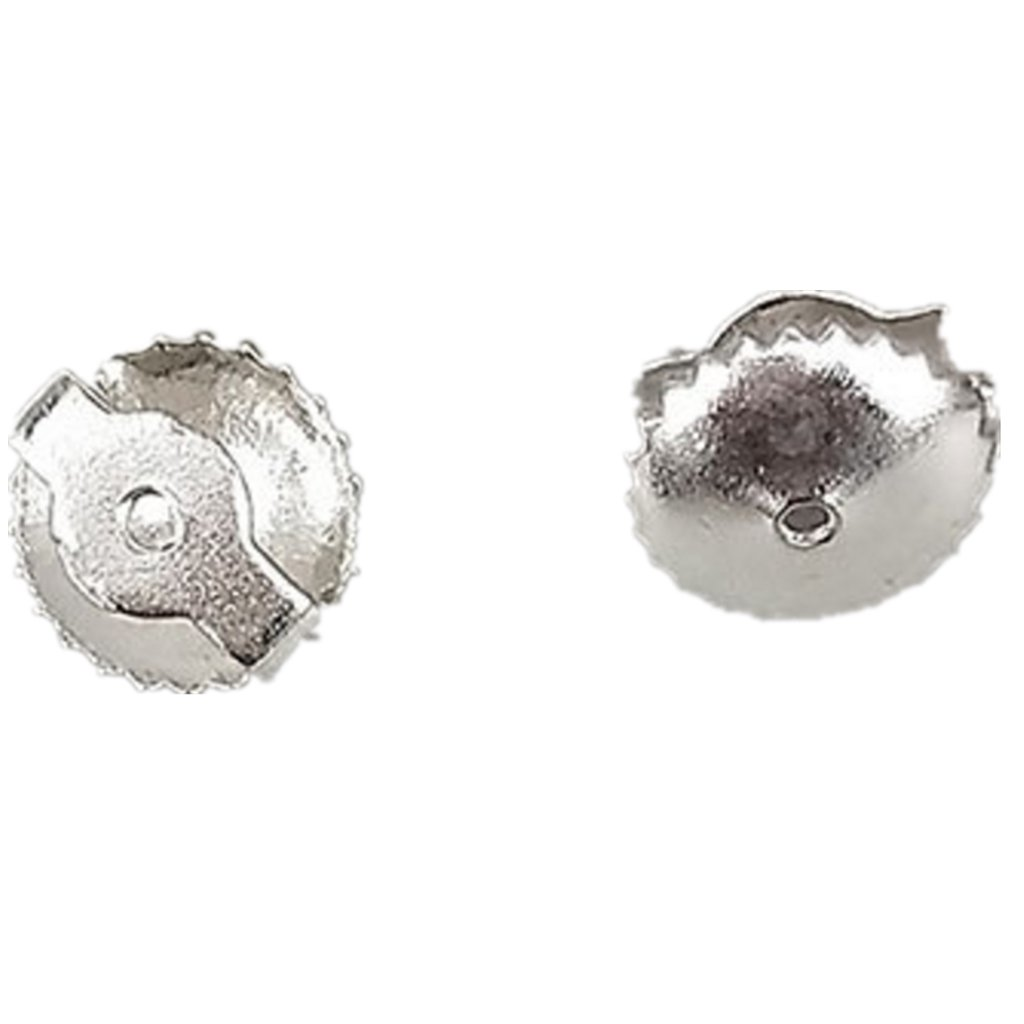 KAIMENG Sterling Silver Single Replacement Back for Screw Back Stud Earrings YG2CEDLSD1