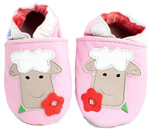 Shoozies Baby Jungen Krabbelschuhe & Puschen Pink Rose