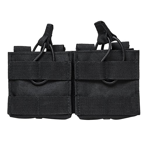 NC Star AR10/M1A/FAL .308 Dual Magazine Pouch, Black for sale  Delivered anywhere in USA