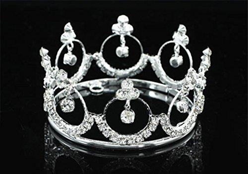 - Exquisite Rhinestones Crystal Photo Prop Baby Tiara Crown T1811