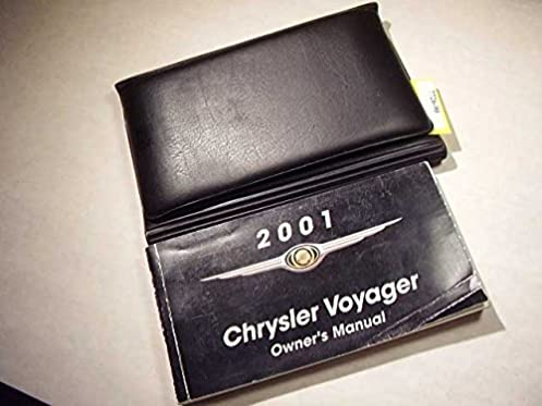2001 chrysler voyager owners manual chrysler amazon com books rh amazon com chrysler voyager 2001 owners manual pdf chrysler grand voyager 2001 manual