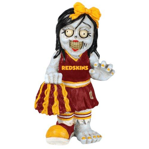 NFL Washington Redskins Cheerleader Team Zombie Figurine