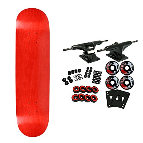 board STAINED RED 7.75