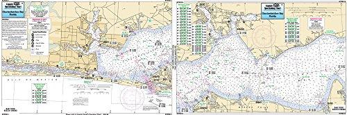 Choctawhatchee Bay to Hummock Pt, FL - Laminated Nautical Navigation & Fishing Chart by Captain Segull's Nautical Sportfishing Charts | Chart # CWB314