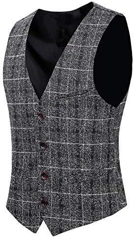 メンズ スーツ スリーピーススーツ スーツセットアップ ベスト付き チェック柄 ビジネススーツ 無地 1ボタン スタイリッシュスーツ パーティースーツ オールシーズン スリム 礼服 紳士服 就職スーツ 大きいサイズ A1169
