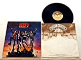 Kiss DESTROYER - Casablanca Records 1976 - USED Vinyl LP Record - 1976 Pressing STERLING - Detroit Rock City - Beth - God Of Thunder - Shout It Out Loud
