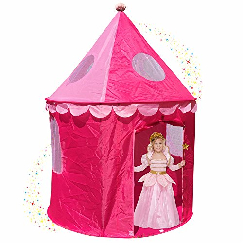 Home ...  sc 1 st  Epic Kids Toys & Pink Princess Castle Play Tents for Girls w/ Sunroof - Unique Pop ...