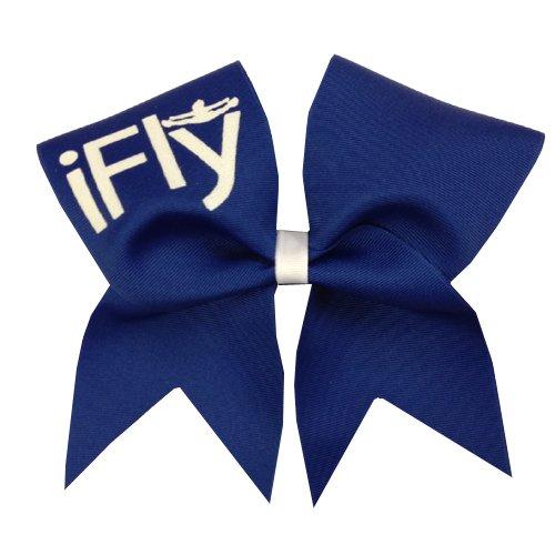 Chosen Bows New iFly Cheer Bow, Royal Blue by Chosen Bows