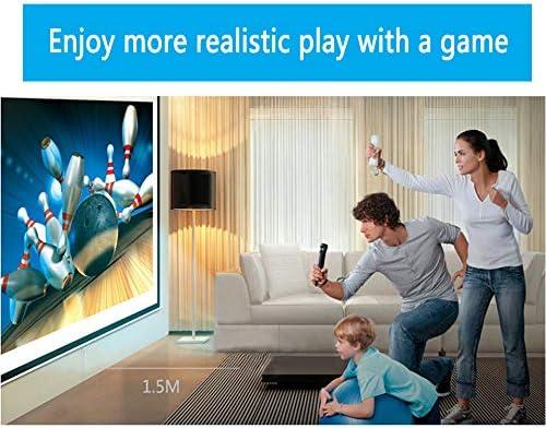Lactivx - Mando a distancia para Wii, 2 paquetes de control de gestos inalámbrico con funda de silicona y correa de muñeca para consola Wii Wii U (rosa y azul) 7