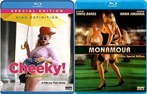 Vintage Raw Brass (Tinto Brass 2-Movie Sexy Italian Collection - Monamour (2-Disc Special Edition) & Cheeky Blu-ray Double Feature Bundle)