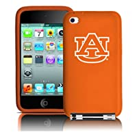 Tribeca FVA3646 Varsity Silicone Jacket for iPod Touch 4G - Auburn U - Orange