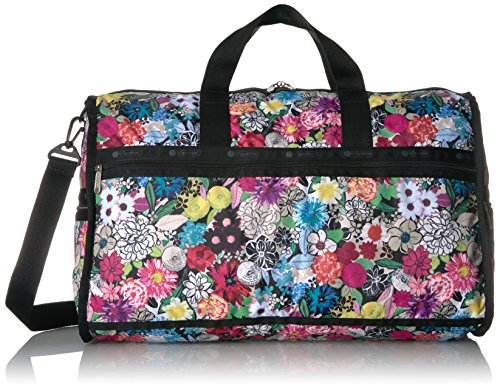 LeSportsac Women's Classic Large Weekender, sunlight floral