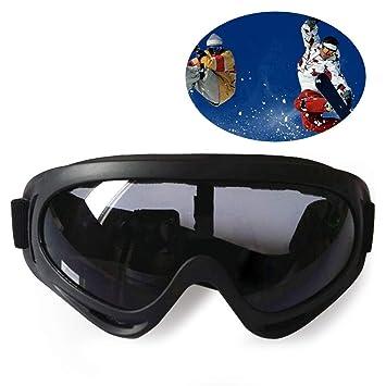 b75239a3fc Gafas protectoras de alto rendimient,Gafas de Seguridad,Gafas para Ciclismo,antivaho,resistentes  a los arañazos,con protección UV380/Safety Glasses: ...