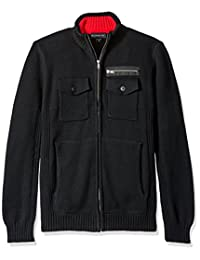 Blizzard Bay Men's Four Pocked Zip up Sweater