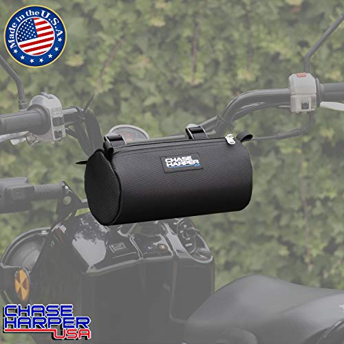 Chase Harper USA Ruckus Barrel Bag - Highly Durable Industrial Grade Ballistic Nylon Exterior with Strong Thermoplastic Insert Full Length Zippered Opening - Black