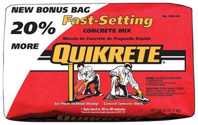 (Quikrete Companies 100460 Concrete Mix)