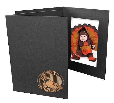 Happy Thanksgiving Event 4x6 Vertical Photo Folders 25 Pack Our price is for 50 units - 4x6 (Event Folder)