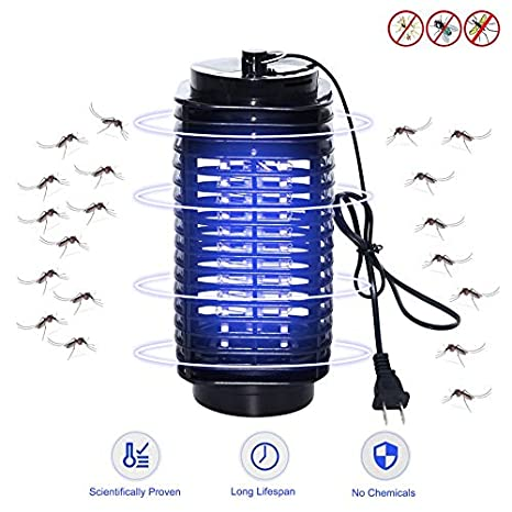 Access Control Learned Electric Mosquito Killer Lamp Led Bug Zapper Anti Mosquito Killer Lamp Insect Trap Lamp Killer Home Living Room Pest Control