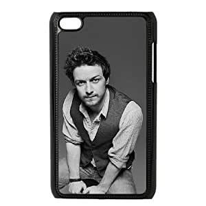 C-EUR Diy case James Andrew McAvoy 2 customized Hard Plastic Case For Ipod Touch 4 [Pattern-6]