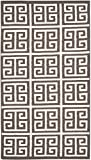 Safavieh Dhurries Collection DHU626C Hand Woven Brown and Ivory Premium Wool Area Rug (4' x 6')