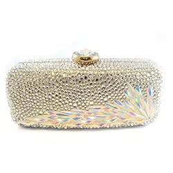 Crystal Paved Handmade Clutch