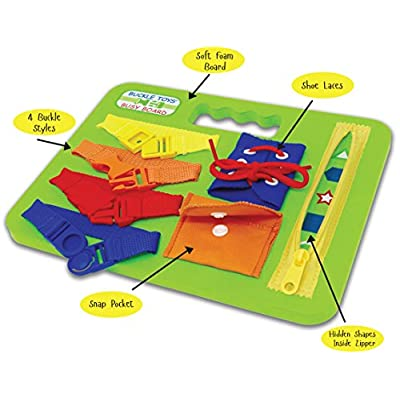 Buckle Toys - Busy Board: Toys & Games