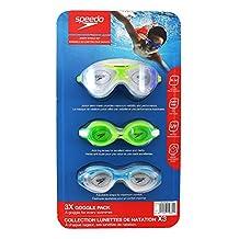 Speedo Junior Swim Goggles Set - 3 Pack