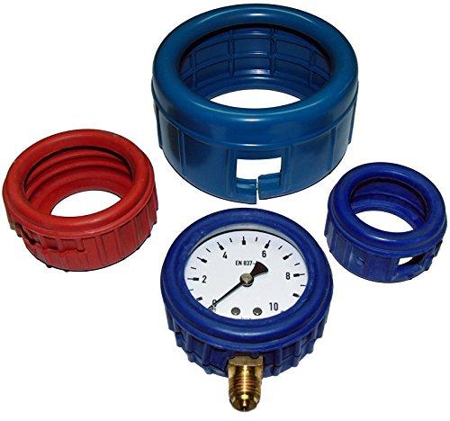 Manometer Gummischutzkappe, NG63 -Rot Manometer Preiss