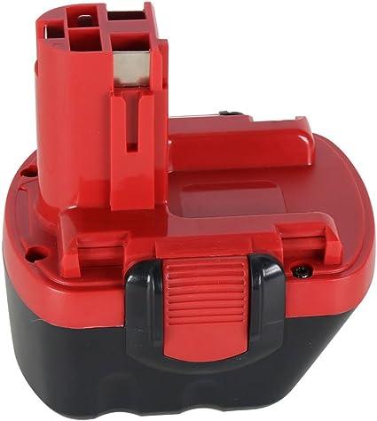 BAT043 3000mAh Bater/ía de repuesto Ni-MH para Bosch 12v BAT045 BAT046 BAT049 BAT120 BAT139 Bater/ía para herramienta el/éctrica inal/ámbrica