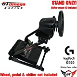 GT Omega Steering Wheel stand PRO suitable For LOGITECH Driving Force G920 Wheel & Shifter V2