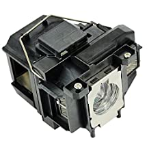 Mogobe ELPLP67 V13H010L67 Projector Replacement Compatible bulb for EPSON EX3210/EX3212/EX5210/EX6210/EX7210/MG-50/MG-850HD;EPSON PowerLite 1221/1261W/S11/W16/W16SK/X12/X15/VS210/VS310/VS315W/VS320;EP