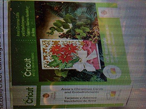 Provo Craft Anna's Christmas Cards & Embellishments Cricut Shape Cartridge, -