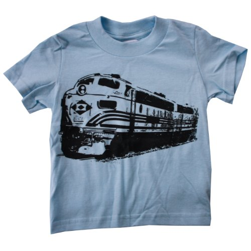 Happy Family Clothing Little Boys' Freight Train Engine T Shirt