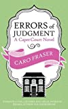 Errors of Judgment, Caro Fraser, 0749014725