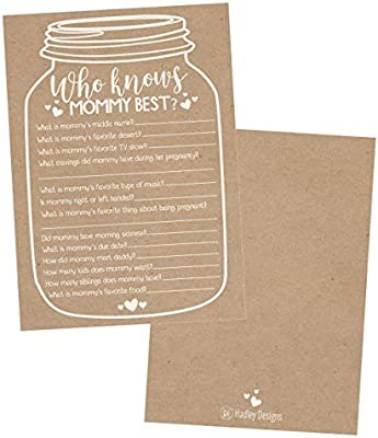 25 Rustic Mason Jar Baby Shower Games Ideas For Boys Or Girls Fun Party Activities Who