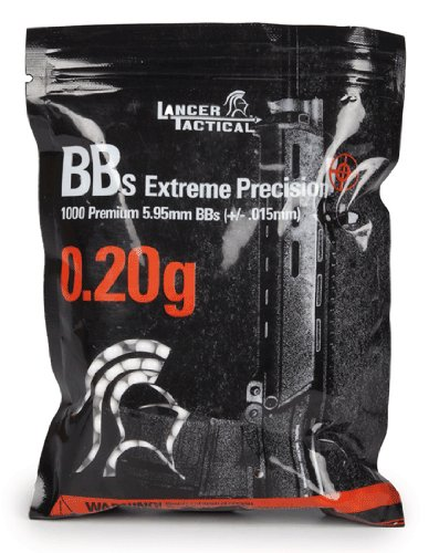 (Lancer Tactical 1000 Extreme Precision .20g 6mm Airsoft BBS)