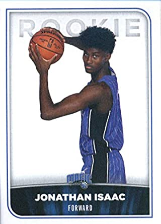 2017 18 panini nba stickers 152 jonathan isaac orlando magic rookie basketball sticker