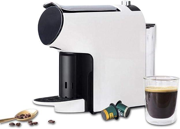 Cafetera Extracción eléctrico Cafetera Hervidor Cafetera Inteligente Máquina automática Máquina de cápsulas de café (Color : White, Size : One Size): Amazon.es: Hogar