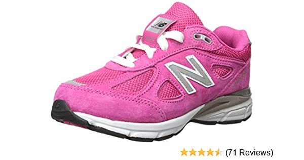 New Balance Kid's 990V4 Hook And Loop Little Kids Female Shoes Pink Baby & Toddler Clothing, Shoes & Accessories