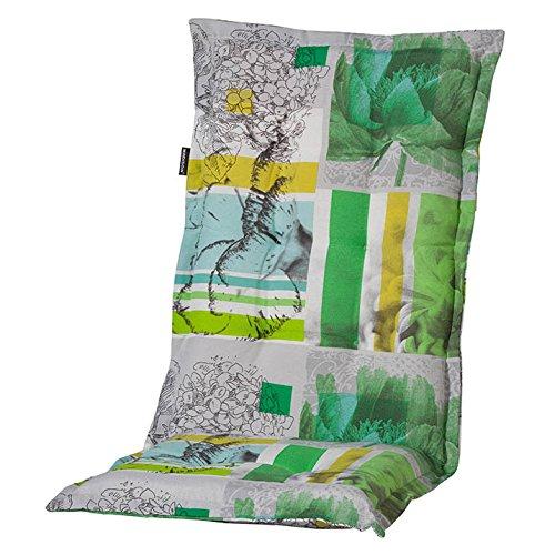 6 Hochlehner Auflagen 120 x 50 x 6 cm Madison Renate Lime Limone Gartenpolster