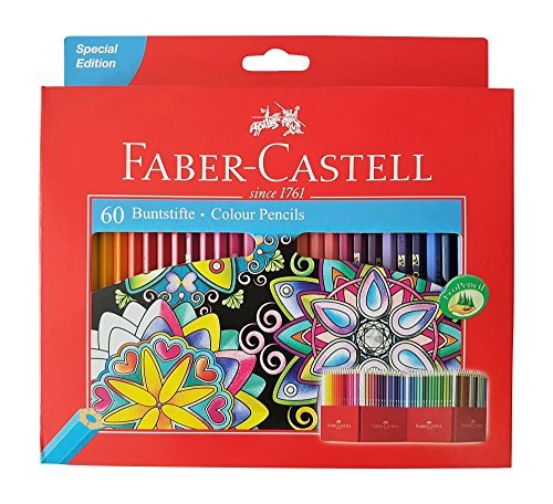 Faber Castell Premium Color Pencils, 60 colour