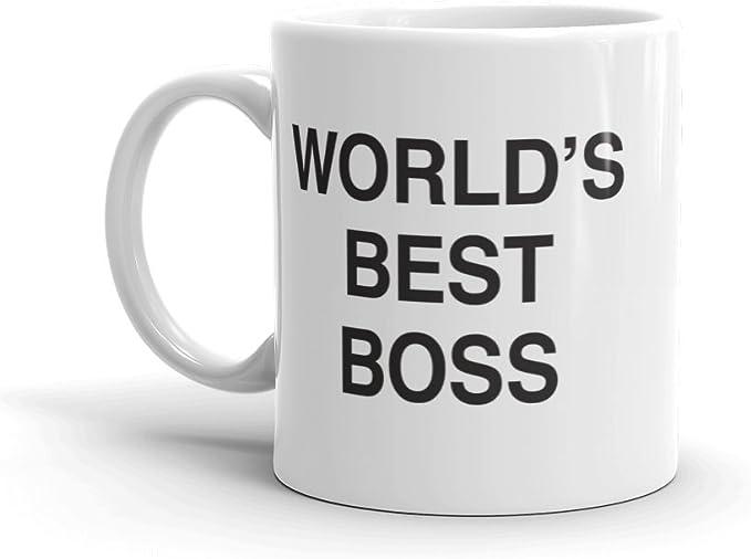 The Office World's Best Boss Dunder Mifflin Ceramic Mug