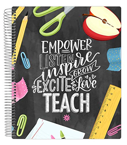 bloom daily planners Undated Academic Year Teacher Planner & Calendar - Lesson Plan Organizer Book (9
