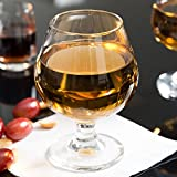 Set of 6 Embassy 9 oz Brandy / Snifter Glass Libbey 3704 w/Signature Cocktail Picks