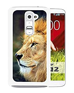 Personalized Custom Design Mighty Lion In The Wild (2) LGG2 Phone Case