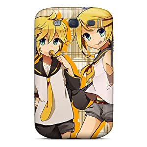 KellyLast Samsung Galaxy S3 Scratch Resistant Hard Cell-phone Case Provide Private Custom Colorful Len Kagamine Rin Kagamine Series [vVH18444OvIB]